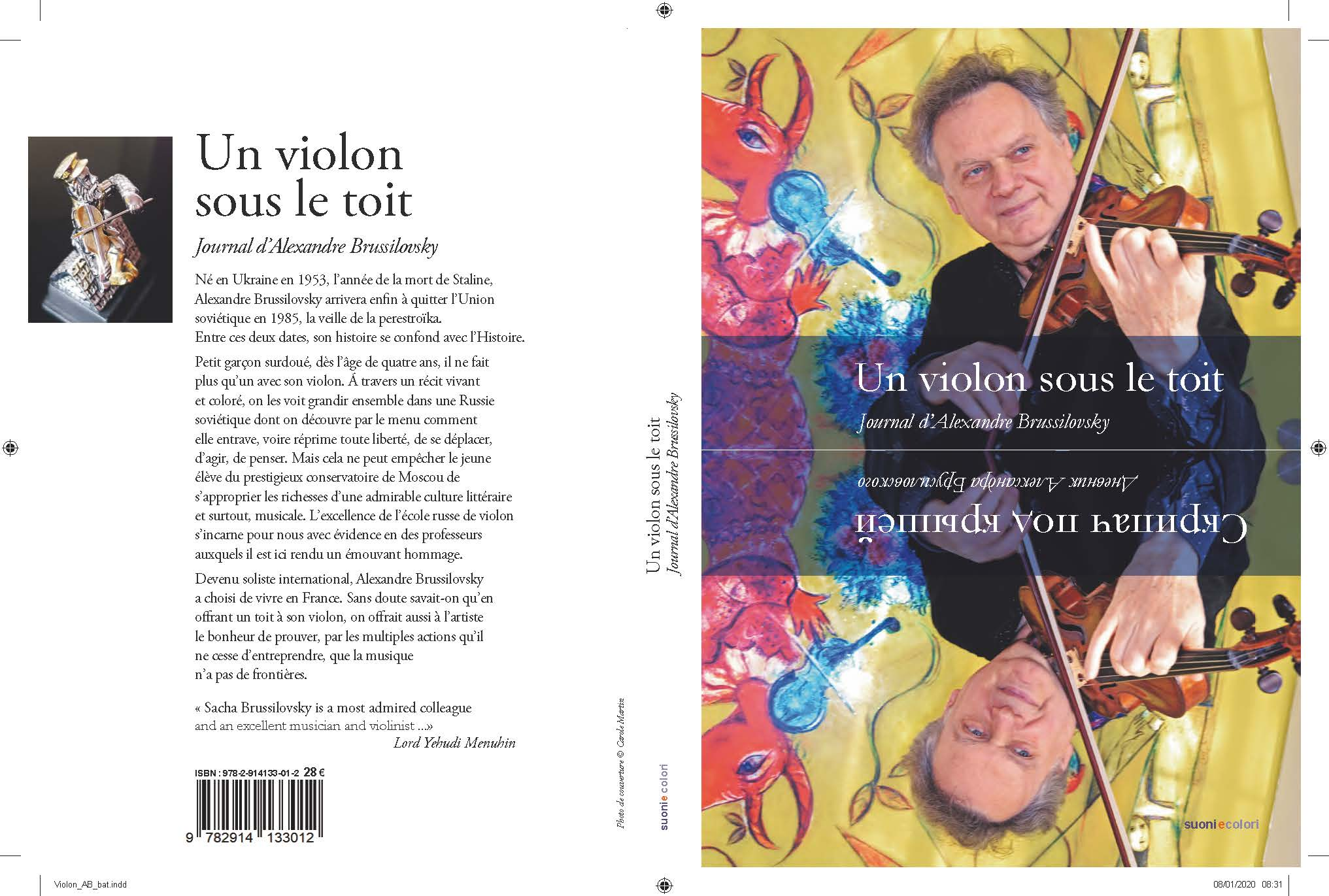 Libro Un Violon sous le Toit version Francesa